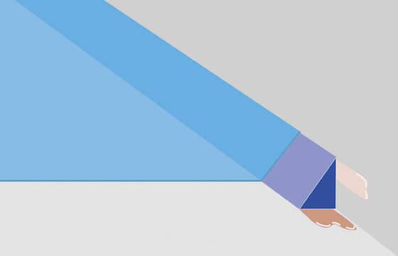 Kleinster Boden- und Wandanschluss mit Tropfkante.